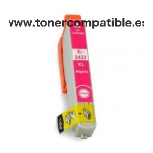 Cartucho tinta Epson T2433 compatible / Tinta compatible T2433