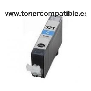 Cartuchos tintas compatibles Canon CLI 521