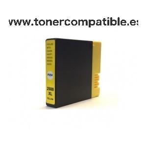 Cartuchos compatibles Canon PGI 2500XL amarillo
