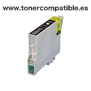 Tinta compatible EPSON T0611 negro