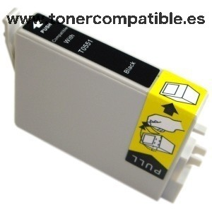 Tinta compatible Epson T0551 - www.Tonercompatible.es