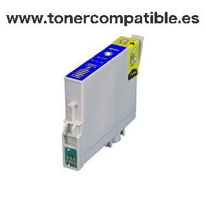 Tinta compatible EPSON T0612 cyan