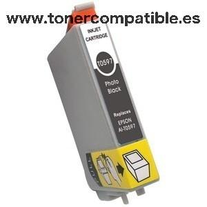 Epson T0597 gris Tinta compatible C13T05974010