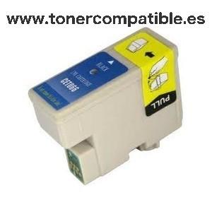 Tinta compatible Epson T066 Negro