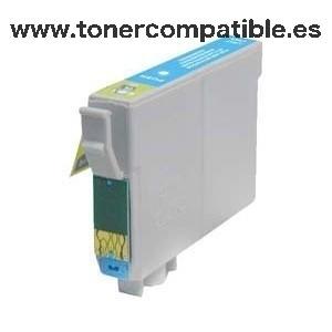 Tinta compatible Epson T0805 Light Cyan