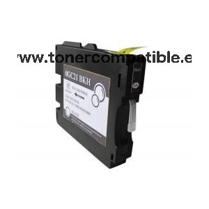 Tinta compatible GC21 Negro