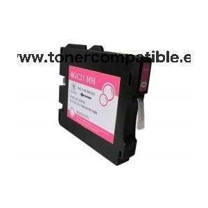 Cartucho de tinta reciclado Ricoh GC21 / Tonercompatible.es