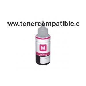 Botella Epson T6643 Magenta / Tinta Epson C13T66434A / Tinta compatible