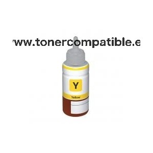 Cartucho de tinta compatible Epson T6644 Amarillo / Botella Epson C13T66444A compatible