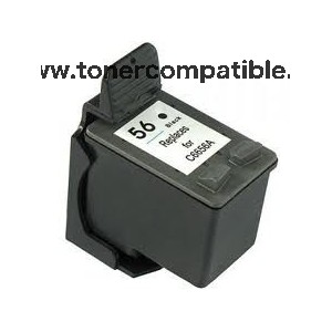 Cartucho compatible HP 56 / Tinta compatible HP 56