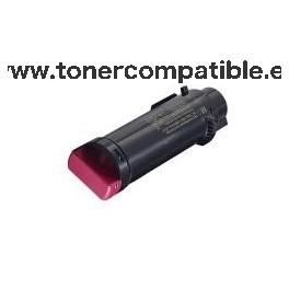Dell H825 / H625 / S2825 magenta Toner compatible