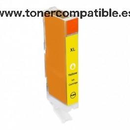 Canon CLI 571XL amarillo Tintas compatibles