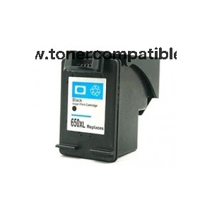 Cartucho de tinta compatible HP 650XL