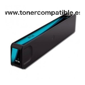 HP 971XL cyan Tinta compatible