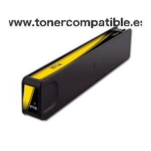 HP 971XL amarillo Tinta compatible