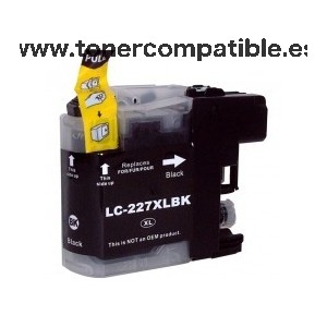 Brother LC227XL negro Cartucho de tinta compatible