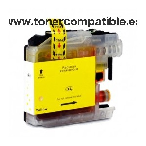 Brother LC225XL amarillo Cartucho de tinta compatible