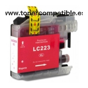 Cartuchos compatibles Brother LC223 / Tinta compatible Brother