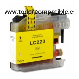 Brother LC223 amarillo Cartucho de tinta compatible