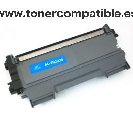 Pack Ahorro 5 Toner compatibles TN2220 / TN450 / TN2010 negro - 2.600 páginas