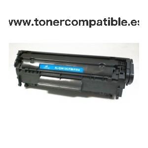Toner compatible Q2612A  / FX9 / FX10 - CRG104 - CRG703 / Cartucho toner compatible