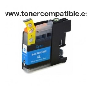 Tinta compatible Brother LC 123 XL / Cartuchos compatibles Brother