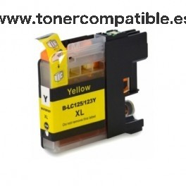 Brother LC 123Y Cartucho de tinta compatible - Amarillo - 10 ML