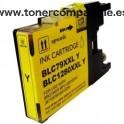Cartucho Brother LC1280XL amarillo Tinta compatible - 20 ML