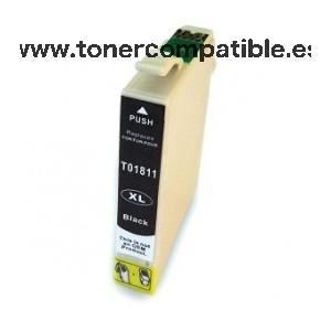 Cartuchos tinta compatibles Epson T1811 / Tintas compatibles T1811