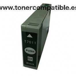 Tinta compatible Epson T7011 Negro 72 ML