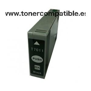 Tinta compatible Epson T7011 / Cartucho compatible Epson T7011