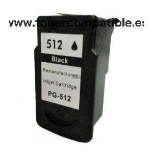 Cartucho tinta compatible Canon PG 512XL / Tinta compatible PG 512XL