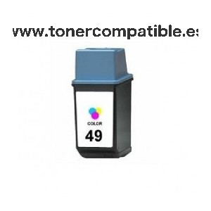 Tinta compatible HP 49