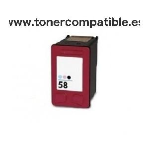 Cartucho compatible HP 58