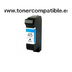 Cartucho tinta compatible HP 45