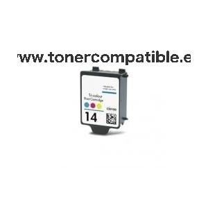 Tinta compatibles HP 14