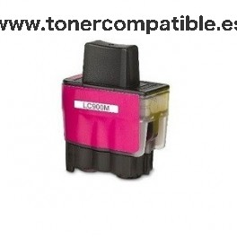 Cartucho BROTHER LC900 magenta  15 ml. Tinta compatible