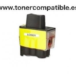Cartucho BROTHER LC900 amarillo 15 ml. Tinta compatible
