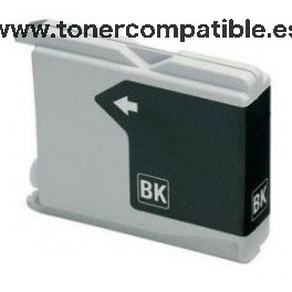 Cartucho BROTHER LC970 / LC1000 - Negro 38 ml. Tinta compatible