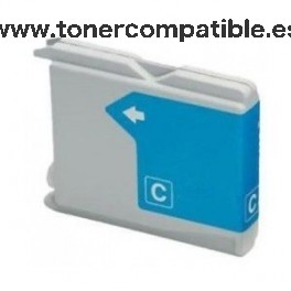 Cartucho BROTHER LC970 / LC1000 - cyan 30 ml. Tinta compatible