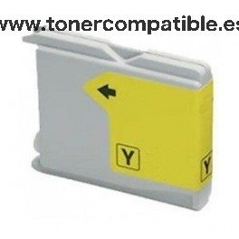 Cartucho BROTHER LC970 / LC1000 amarillo 30 ml. Tinta compatible