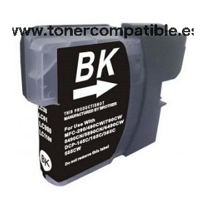 Cartucho compatible Brother LC980 / Tinta compatibles Brother LC1100