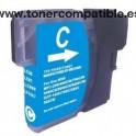 Cartucho BROTHER LC985 / LC39 tinta compatible cyan 19 mililitros