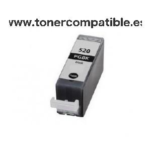 Cartuchos tinta Canon PGI 520