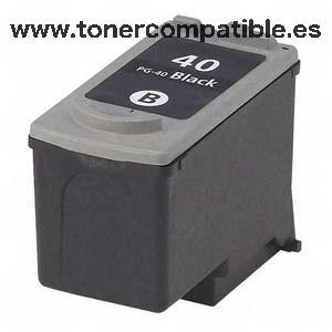 Cartucho tinta compatible Canon PG 40