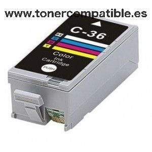 CANON - PGI 36 - Color - 24 ML