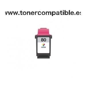 Tinta compatible Lexmark 80