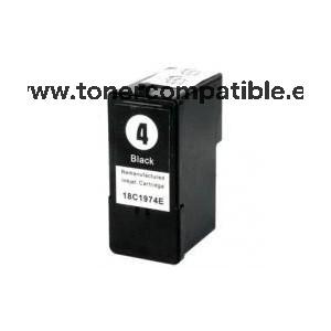 Cartucho tinta compatible Lexmark 4