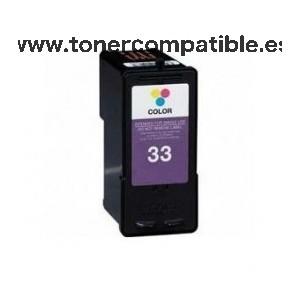 Cartuchos tinta compatibles Lexmark 33
