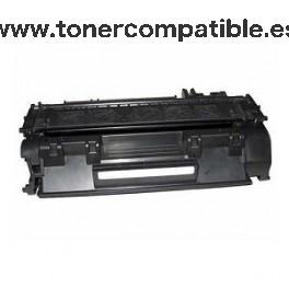 TONER COMPATIBLE - CE505A - CRG719 - Negro - 2300 PG